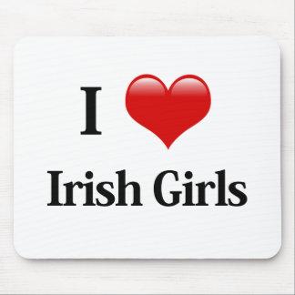 I Heart Irish Girls Mouse Pad