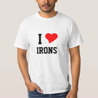 I Heart IRONS T-Shirt