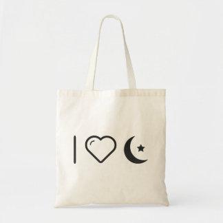 I Heart Islams Budget Tote Bag