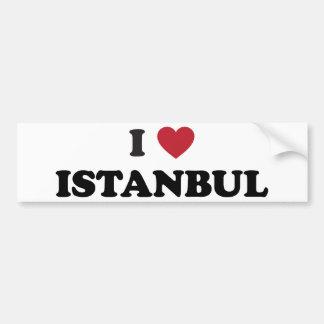 I Heart Istanbul Turkey Car Bumper Sticker