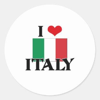I HEART ITALY STICKER