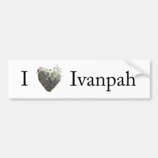 I [heart] Ivanpah Car Bumper Sticker
