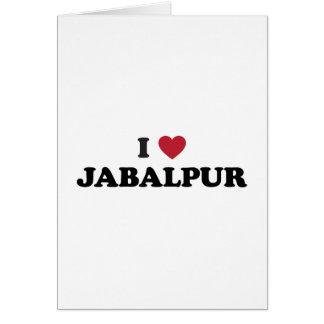 I Heart Jabalpur India Card
