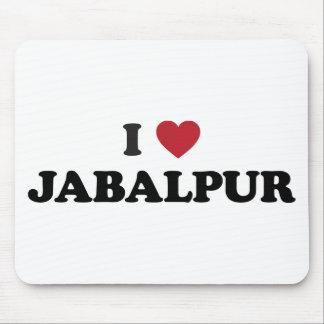 I Heart Jabalpur India Mouse Pad