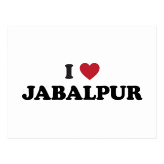 I Heart Jabalpur India Postcard