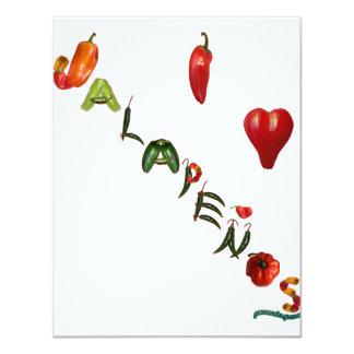 I Heart Jalapenos Card