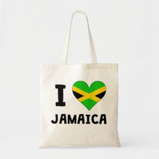 I Heart Jamaica Budget Tote Bag