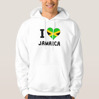 I Heart Jamaica Hooded Pullovers