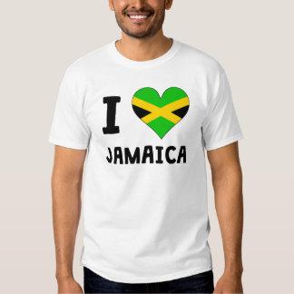 I Heart Jamaica T Shirt