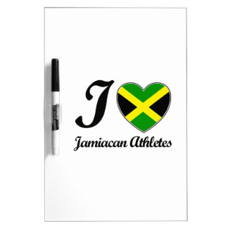 I HEART JAMAICAN DEASIGNS Dry-Erase WHITEBOARDS