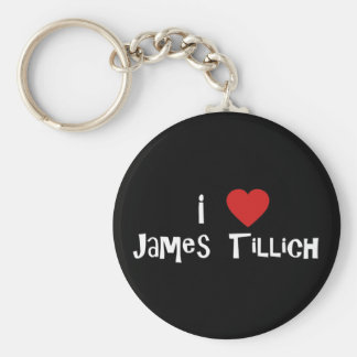I Heart James Tillich Keychain