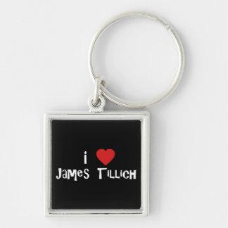I Heart James Tillich Keychains