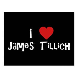 I Heart James Tillich Postcard