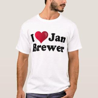 I Heart Jan Brewer T-Shirt