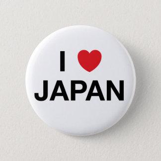 I HEART JAPAN Badge Pin