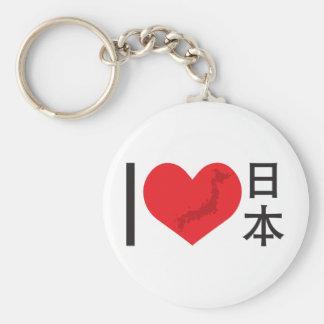 I Heart Japan Keychain