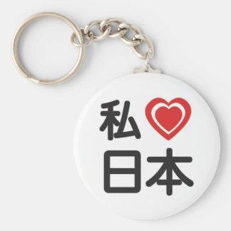 I Heart Japan Key Chains