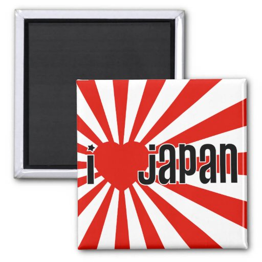 I Heart Japan! Magnets