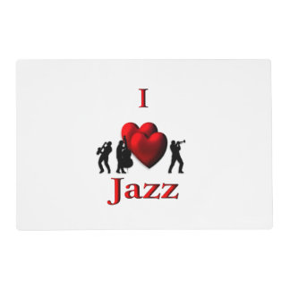 I Heart Jazz Placemat