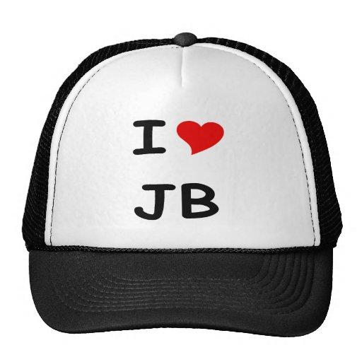 I HEART JB TRUCKER HAT