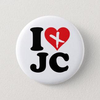 I Heart JC Pinback Button