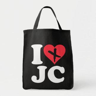 I Heart JC Tote Bag