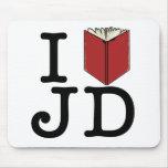 I Heart JD Mouse Pad