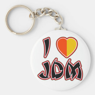 I Heart JDM (Kareha) Basic Round Button Keychain