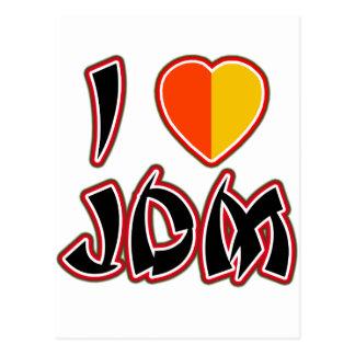 I Heart JDM (Kareha) Postcard