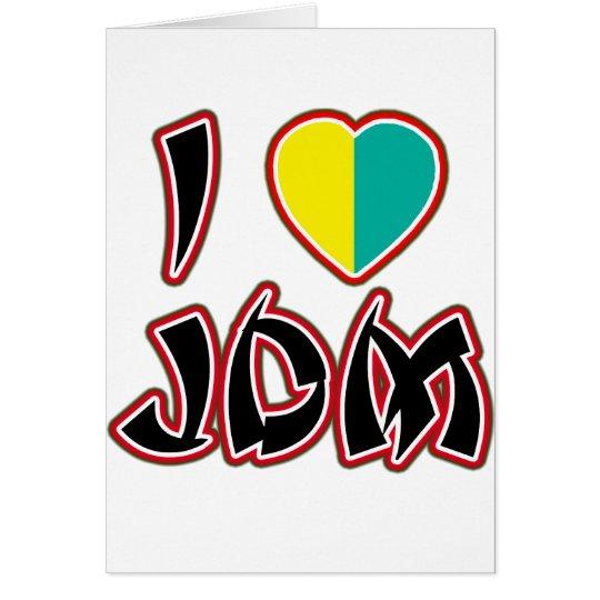 I Heart JDM (Wakaba) Card