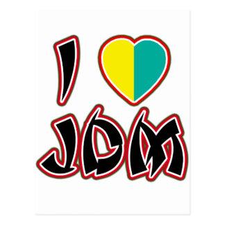 I Heart JDM (Wakaba) Postcard