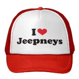 I Heart Jeepneys Trucker Hat