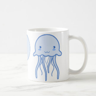 I Heart Jellyfish Coffee Mugs