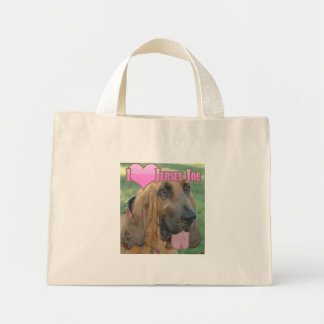 "I ""heart"" Jersey Joe Tote Bags"