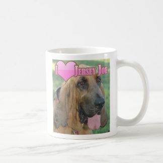 "I ""heart"" Jersey Joe Coffee Mugs"