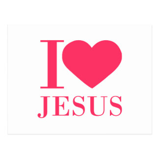 I-heart-Jesus-bodoni-2.png Postcard