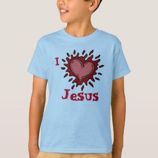 I Heart Jesus Boys T-Shirt