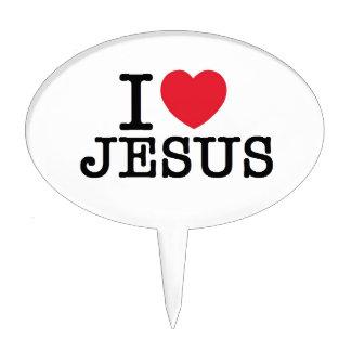 I heart Jesus Cake Topper