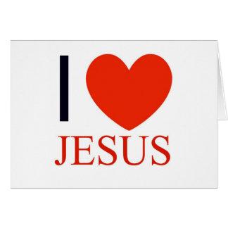 I Heart Jesus Card