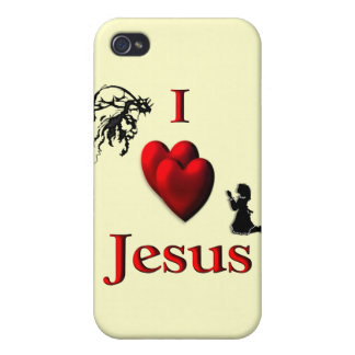 I Heart Jesus iPhone Case Cases For iPhone 4