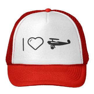 I Heart Jets Trucker Hat
