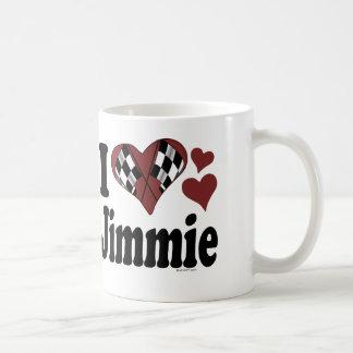 I Heart Jimmie Classic White Coffee Mug