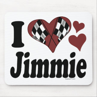 I Heart Jimmie Mouse Pad