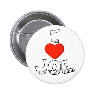 I Heart Joe -Button