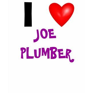 I Heart Joe Plumber shirt