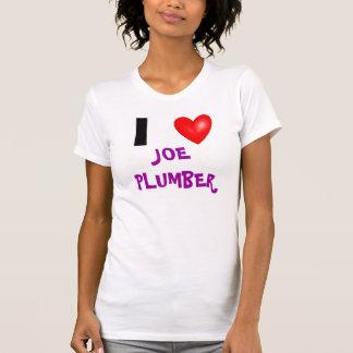 I Heart Joe The Plumber Shirt