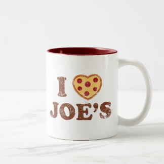 I Heart Joe's Two-Tone Coffee Mug