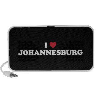 I Heart Johannesburg South Africa iPod Speakers