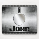 I Heart John Or ? Cool Metal Mousepad
