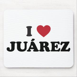 I Heart Juarez Mexico Mouse Pad